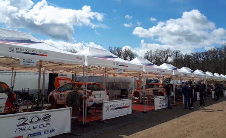 tentes pliantes v3 pro de Peugeot Sport