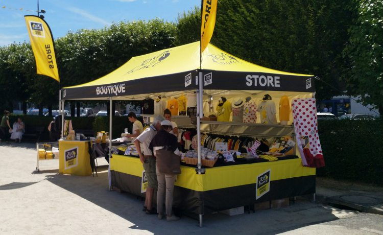 tente pliante V3 PRO de la boutique officielle du tour de France