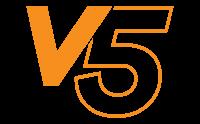 logo de la gamme de tentes pliantes V5