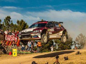 Skoda Fabia R5 de 2C Competition au rallye de Sardaigne