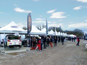 tentes paddock AFC Racing