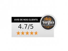 Avec une note moyenne de 4,7/5, nos clients sont unanimes sur la qualité de nos produits et de nos services.