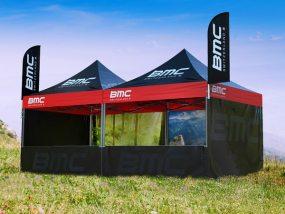 tentes pliantes V5 de BMC Switzerland