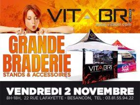 grande braderie Vitabri le vendredi 2 novembre de 8h à 18h