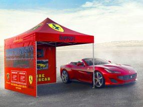 tente pliante V3 PRO pour Cap Super Car