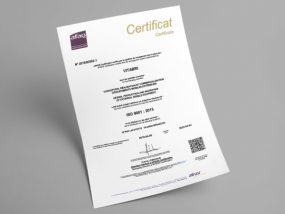 Vitabri est certifié ISO 9001