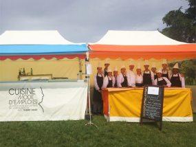 tentes pliantes V3 pro 2x4m pour Cuisine Mode d'Emploi(s), école de formation aux métiers de la restauration créé par le chef étoilé Thierry Marx
