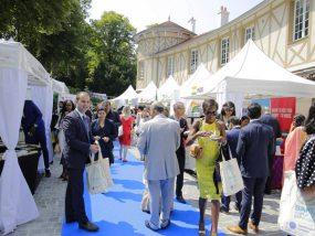 tentes pliantes V3 garden à la diplomatic garden party