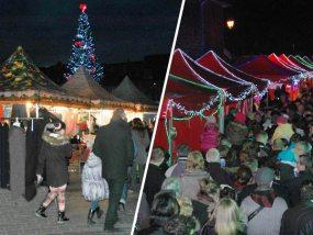 Les tentes pliantes Vitabri équipent les marchés de Noël