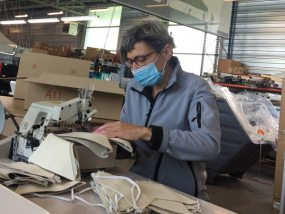 fabrication de masques de protection