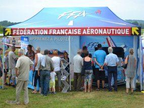 tente pliante V3 PRO de la fédération française aéronautique