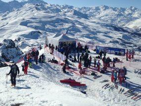 Tentes pliantes V2 aux finales de coupe du monde de ski alpin 2015