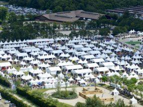 tentes pliantes V3 garden au Game Fair