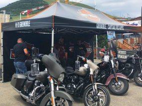 tente pliante V3 PRO pour Harley-Davidson Grenoble