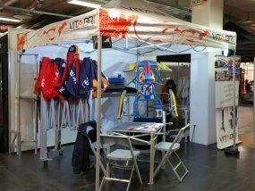 Tentes pliantes V2 et V3 au salon IKA Kart 2000