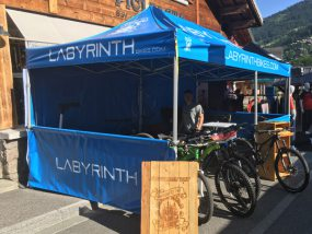 tente pliante V3 PRO de Labyrinth Bikes