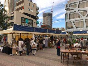 Tentes pliantes V3 Pro à un marché des Antiquités au Japon