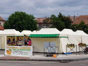 tentes pliantes V3 PRO au marché de Saône