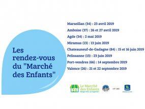 Dates 2019 du marché des enfants