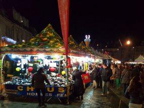 Tentes pliantes V3 garden au marché de Noël de Besançon