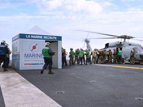 Tentes pliantes V3 PRO de la Marine Nationale