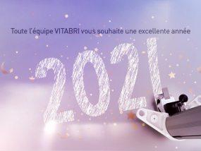 Toute l'équipe VITABRI vous souhaite une excellente année 2021