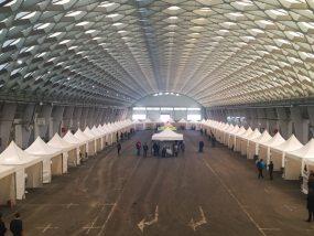 Tentes pliantes V3 garden au Marché D'intérêt National de Grenoble