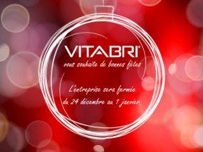 Vitabri vous souhaite de bonnes fêtes.
