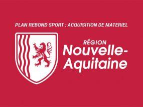 Plan rebond sport de la région Nouvelle-Aquitaine