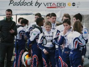 Première manche du championnat de France junior karting