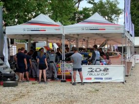 tentes pliantes V3 PRO au rallye terre de Langres