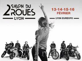 Nous sommes au salon du 2 roues à Lyon Eurexpo jusqu'à dimanche