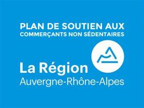 Plan de soutien aux commerçants non sédentaires de la région Auvergne-Rhône-Alpes