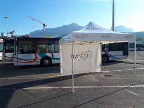 tente pliante V3 PRO de Synchro Bus