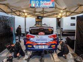 tente paddock V2 de 2C Competition au rallye de Monte-Carlo