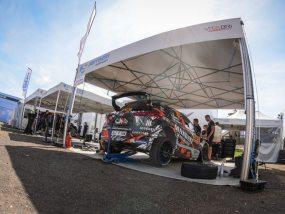 tentes pliantes V2 de Sarrazin Motorsport