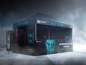 Tente pliante V3 PRO 3x4,50m pour Acer Predator, gamme d'ordinateurs dédiés aux gamers
