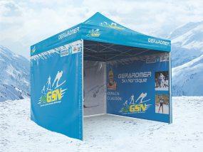 tente pliante V3 PRO de l'association sportive Gérardmer ski nordique