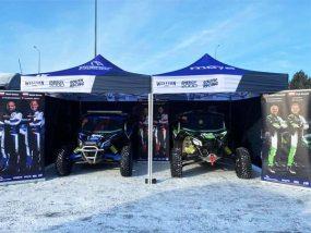 tentes paddocks V3 PRO de Energylandia rally team