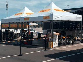 tentes paddocks de Greco Gomme Racing