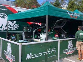 tentes paddocks V2 5x5m de Motorsport Italia
