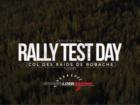 Sébastien Loeb Racing en test pour le rallye du Mont-Blanc Morzine