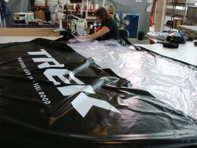 confection de tentes pliantes pour trek