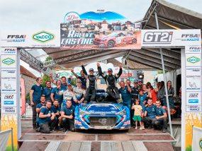Triplé historique de Sarrazin Motorsport au rallye Castine Terre d'Occitanie