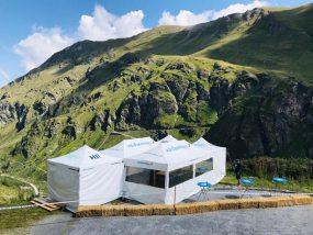 tentes pliantes V3 PRO au Val d'Anniviers