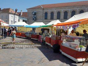 tentes pliantes V3 PRO au village street food de Besançon