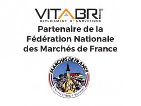 Vitabri partenaire de la Fédération Nationale des Marchés de France