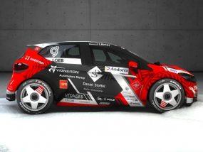 voiture de Sébastien Loeb Racing pour sa participation au trophée Andros