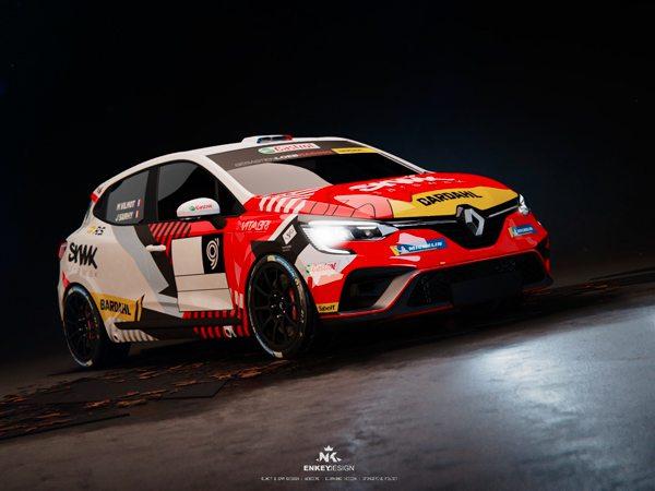 Clio 5 de Sébastien Loeb Racing