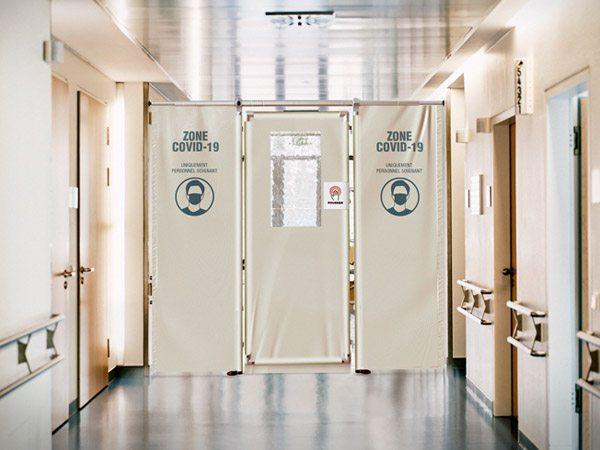 Nouveau dispositif breveté de séparation de couloir amovible et modulable